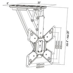 VIVO Electric Motorized Flip Down Pitched Roof Ceiling TV Mount for to Screen Master Pack Tv Ceiling Mount, Roof Ceiling, Motorized Tv Mount, Tv Holder, Furniture Packages, Electric, Tv Bracket, Tv Wall Design, Mounted Tv