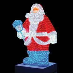 Outdoor Santa Claus LED Christmas Decoration