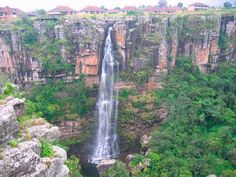 Top 11 Bungee Jumping Sites In The World Places Around The World, Oh The Places You'll Go, Places To Travel, Around The Worlds, Natural Waterfalls, Beautiful Waterfalls, Picture Places, Exotic Places, Famous Places