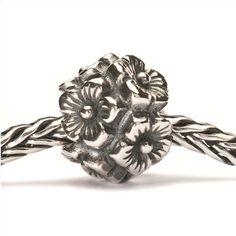 Trollbeads // Trollbeads Sterling Silver Elderflowers Bead