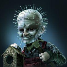 FINALIST: Twisted Horror (Pinhead) - Carpenter