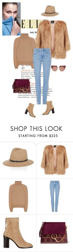 """""""#lookoftheday"""" by ketp ❤ liked on Polyvore featuring rag & bone, Pinko, The Row, Chloé, Marni, StreetStyle, jeans, beige and lookoftheday"""