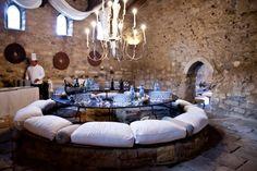 Sicilian table setting for a wedding