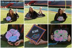 They give good advice: less is more when it comes to grad cap decorations!