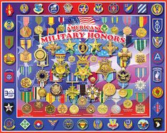 Military Honors Jigsaw Puzzle from White Mountain Puzzles