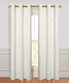 Loving this Ivory Vienna Curtain Panel - Set of Two on #zulily! #zulilyfinds