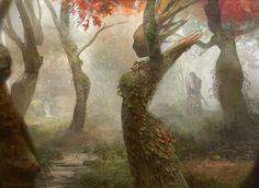 Magic the Gathering: Dryad Arbor by Cryptcrawler.deviantart.com on @DeviantArt