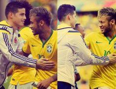 neymar, james rodriguez, and neymar jr image James Rodriguez, Neymar Jr, Barcelona, Making The Team, Soccer Stars, Football Players, Football Soccer, Best Player, Real Madrid