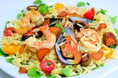 Risoni Mediterrâneo com bottarga - http://chefsdecozinha.com.br/super/receitas/massas/risoni-mediterraneo-com-bottarga/ - #Bottarga, #Superchefs