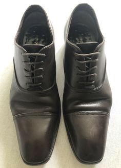 """Tom Ford """"J0104"""" Oxford Brown Leather Shoes, Size 9 UK RRP £1300 · $199.99 Brown Brogues, Brown Leather Shoes, Loafer Shoes, Loafers, Tom Ford Shoes, Shoe Deals, Grid, Toms, Dress Shoes"""