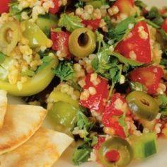 Ταμπουλέ (σαλάτα με πλιγούρι)