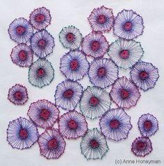 Anne Honeyman - Latest work Free Motion Embroidery, Machine Embroidery, Textile Fiber Art, Fibre Art, Creative Textiles, Mug Cozy, True Art, Mixed Media Artists, Doodle Art