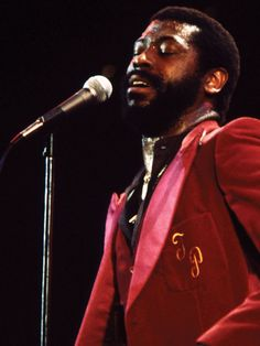 Teddy Pendergrass March 26, 1950– January 13, 2010 Lead singer of Harold Melvin and the Bluenotes before going solo