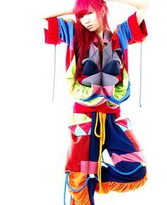 runurunu  fashion, high fashion, style, clothing, apparel, editorial, crazy fashion, crazy style, print, illustration, textile printing, harajuku, colorful, rave.