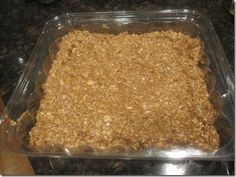 Home Made Apple Cinnamon Protein Bars
