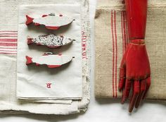 Piet Boon Styling by Karin Meyn | Red detail styling items