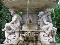 Danubius Fountain, Budapest