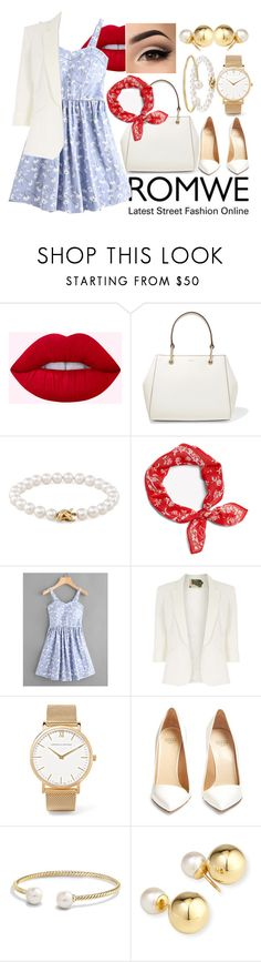 """""""Untitled #1787"""" by ayushaanand ❤ liked on Polyvore featuring DKNY, Tiffany & Co., Jolie Moi, Larsson & Jennings, Francesco Russo, David Yurman and Yoko London"""