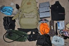 Packing list for a GoRuck Nasty