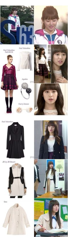 Kim ji won as Yo Rachel fashion