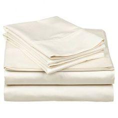 Taissa Sheet Set in Ivory