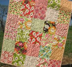 Meadowsweet Baby Quilt Etsy
