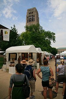 Ann Arbor Street Art Fair - loves shopping directly from artists. Cherishes the story and inspiration about the pieces she collects.