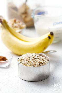 Banana Bread Oatmeal | Food Fashion and Fun
