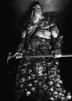 ArtStation - TYRANT-character from 'chronicles of HATE book1', adrian smith