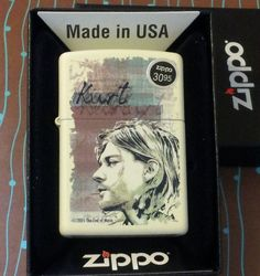ZIPPO 29051 Kurt Cobain Cream Matte NEW 2016 Release Lighter