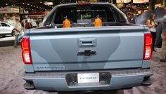 rear view 2016 Chevy Silverado Special