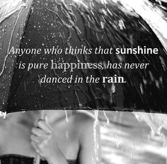 quote, rain    CASHMERE LOVER: RAINY WEDNESDAY: LET'S DANCE