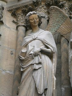 reims cathedral annunciation