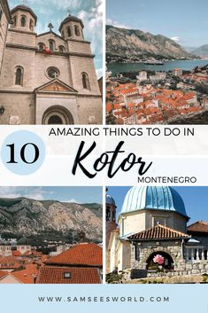 There are so many amazing things to do in Kotor, Montenegro. Kotor is a city full of beauty, history, and excitement and a visit here will leave you in awe of the magic of Montenegro. As the most popular and famous city in Montenegro, Kotor is a place everyone should visit at least once. I have spent various summers in Montenegro and find myself always pulled back to visit Kotor again and again.
