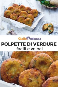Vegetable meatballs-Polpette di verdure Vegetable meatballs: golden and crispy . Vegetable meatballs-Polpette di verdure Vegetable meatballs: golden and crispy on the outside, soft and colorful on t Vegetable Recipes, Meat Recipes, Cooking Recipes, Healthy Recipes, Chicken Wing Recipes, International Recipes, Creative Food, Buffet, Italian Recipes