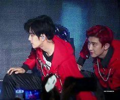 [HQ] 160618 Baekhyun & Chanyeol at Suwon Kpop Super Concert
