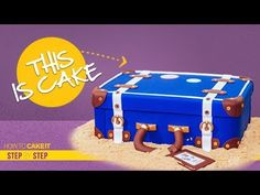 How To Make The Ultimate CAKE | Cake of Cakes Tutorial | How To Cake It | Yolanda Gampp - YouTube Luggage Cake, Suitcase Cake, Beautiful Cake Pictures, Beautiful Cakes, Fake Wedding Cakes, 3d Cakes, Pack Your Bags, Crazy Cakes, Decadent Chocolate