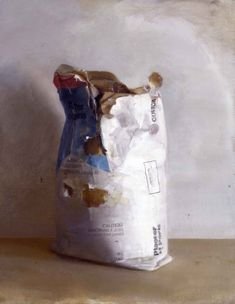 christopher gallego | bag of plaster (oil on canvas)