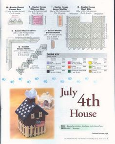Holiday Birdhouse {July 4th} 7/18