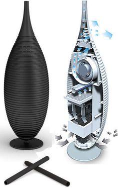 기능적요소뿐만아니라 디자인적 요소를 가지고 있어 공기청정 기능 및 인테리어 소품으로 서의 역할이 가능한 제품이다