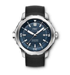 #TiempoPeyrelongue IWC Watches AQUATIMER Despiden deportividad, dinámica y fuerza, son los acompañantes perfectos para expediciones bajo el agua, pero también en tierra firme.