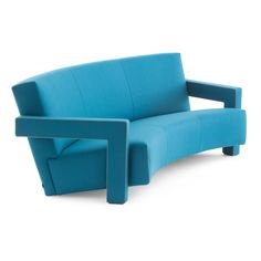 he Utrecht Three Seater Curved Sofa from Cassina was designed by Gerrit Rietveld in 1935.