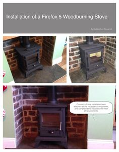 #firefox #Stove #installation #multifuel stove #woodburning stove #huddersfield #yorkshire #home #design #decor #living #chimney