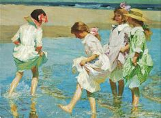 It's About Time: Waterside with American artist Edward Henry Potthast 1857-1927
