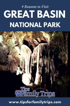 4 Reasons to Visit Great Basin National Park in Nevada. This uncrowded national park is just 10 miles from the Utah border and has lots of great things to do for families | tipsforfamilytrips.com #Utah #Nevada #GreatBasin #NationalParks #tipsforfamilytrips #travel #vacationideas