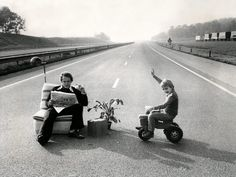 What happened one day when the government of the netherlands closed the highways
