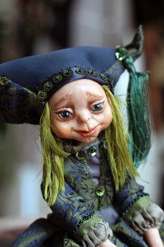 Art doll OOAK/ Art doll/ Doll fairy/ Polymer clay doll/