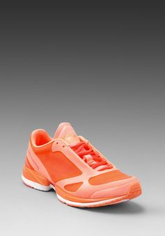 adidas by Stella McCartney Athletic Shoe in Ultra Bright Turbo Bliss Coral Stella  Mccartney 6ab11660ee0a