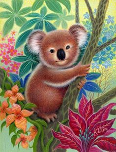 Heres some humor... Q. Why did the koala fall out of the tree? A. Because it was dead.