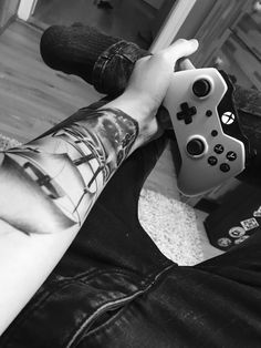 #tattoo#skull#pirateship#xbox